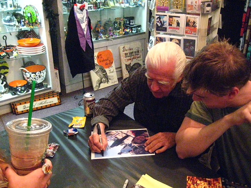 FEAST 2 DVD signing