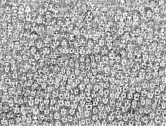 Caos Humano (Guilherme Kramer) Tags: people brasil pessoas gente human rush caos paulo population sao humano kramer humans humanos guilherme populao lotao 2090 previso