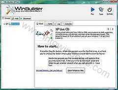 Créer un CD live Windows XP étape 3