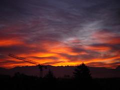 Bonjour (keppet) Tags: france grenoble sunrise dawn fontaine rhonealpes