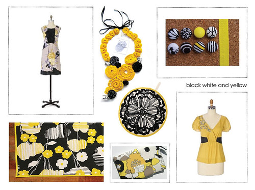 black white and yellow