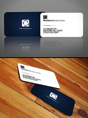 Washburn business card (Pixel Fantasy) Tags: logo layout design construction business card washburn