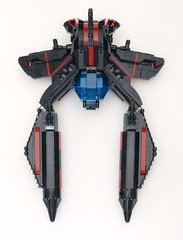VOAT Colubrine Top View (Uspez) Tags: fighter lego space voat vicviper