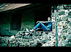 Worry is the darkroom in which negatives are developed (flickrohit) Tags: india darkroom trek fort crossprocess negative summit worry maharashtra rohit sinhgad rohitgowaikar