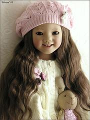 Ilai Himstedt (MiriamBJDolls) Tags: 2005 bunny hat doll vinyl limitededition ilai annettehimstedt himstedtkinder