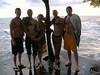 Vacation in Limbe (kroseycorn) Tags: ocean peacecorps cameroon limbe semebeach