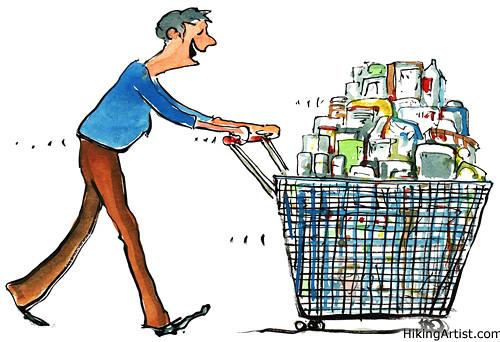 Going shopping again