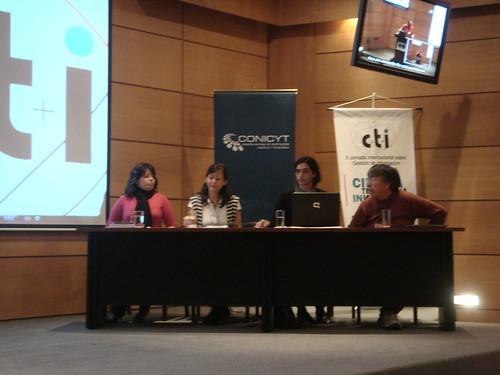II Jornada Intl. sobre Gestión de la Información, CTI, Concepción, Chile, Oct.08