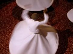 Performing the Sema. (Praziquantel) Tags: turkey dance sema bursa whirlingdervishes