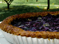 Receta tarta de arándanos casera - Recipe homemade Blueberry pie