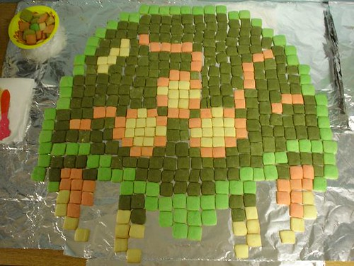 Metroid Sugar Cookie Mosaic