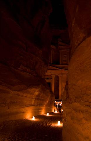 petra at night flylice