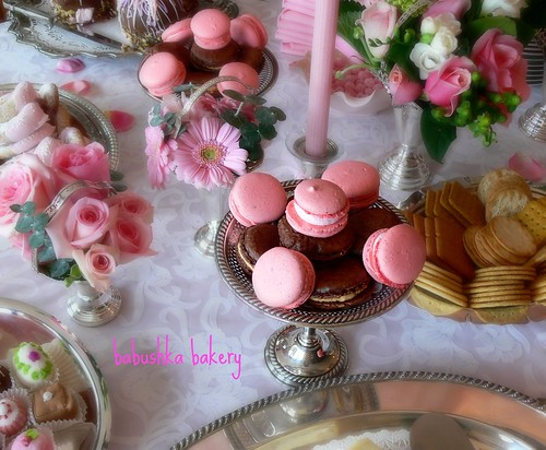 Macarons at Baby Shower