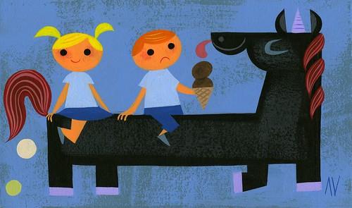 Evil Poopicorn - Amanda Visell - Artwork
