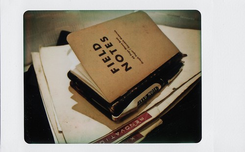 Field Notes with Moleskine