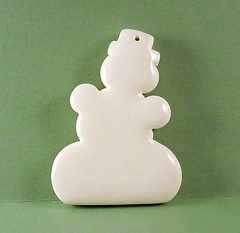 Frosty The Polymer Clay Snowman