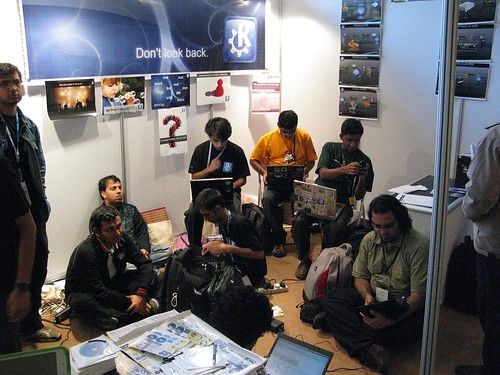 FOSS Expo Stand