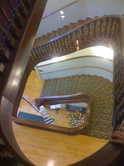 Stairway in the Courthouse in Cottonwood Falls, Kansas