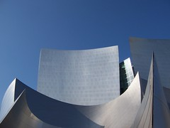 Disney Concert Hall (DisneyKrayzie) Tags: california ca building architecture la losangeles downtown steel gehry 150 curve musichall frankgehry philharmonic aia aia150