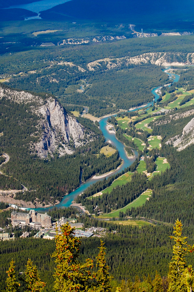 Bow Valley - Aerial View
