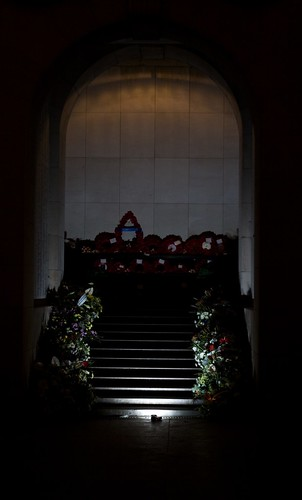 Wreaths at Menin Gate