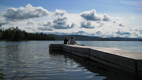 Drying out On Rangeley Lake