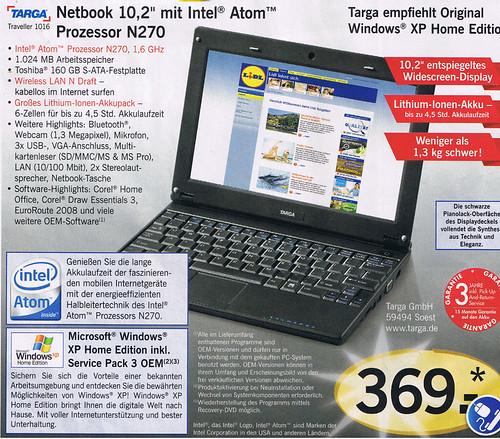 Targa Netbook