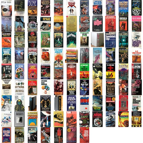 95 Mostly sci-fi books