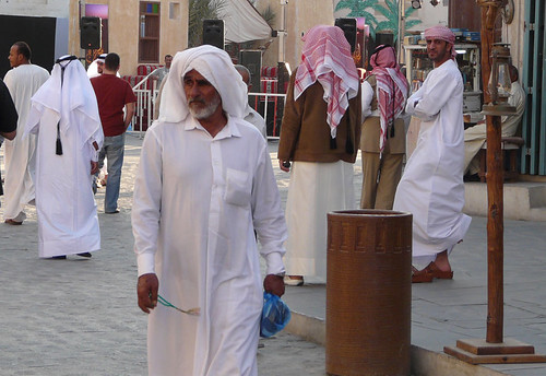 Men wearing Thobes.