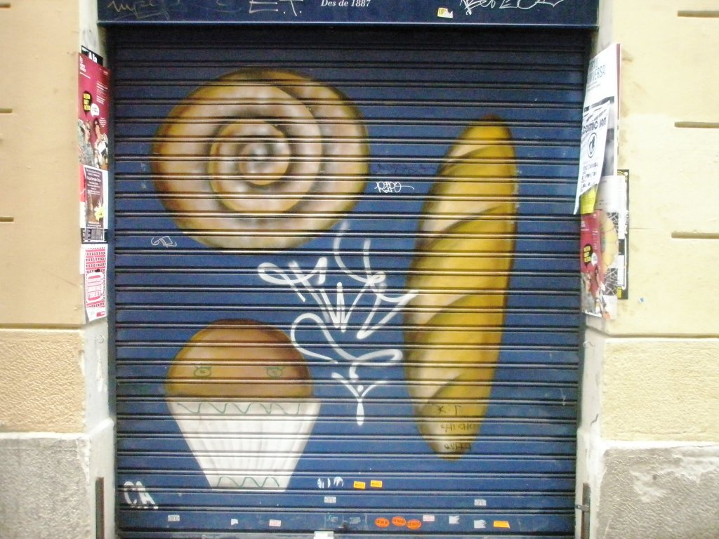bakery street art.