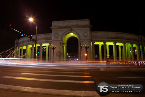 Greek Amphitheater at Night - Civic Center Park, Denver