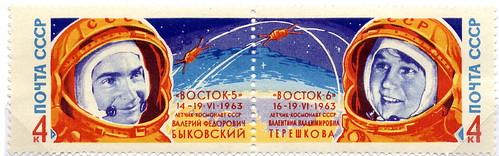 VOSTOK 5 & VOSTOK 6 / VALERY BYKOVSKY & VALENTINA TERECHKOVA