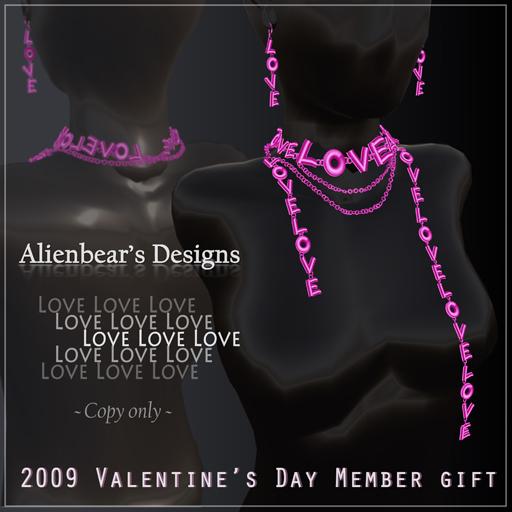 Alienbear's V Day Member Gift