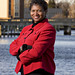 Mayor Victoria Jackson Stanley on the Choptank River