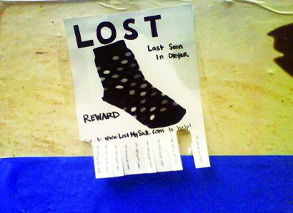 Lostmysock