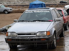 PA117280 (Kyle' Photography) Tags: sunday colorado cold rallycross rally cross nationals fountain ford nissan honda hyundai escort sentra crx civic elantra mazda volvo toyota bmw rx7 750wagon mr2 325c mitsubishi subaru dsm evo 10 legacy gt taser sti wrx wagon chevrolet beretta focus svt alfaromeo gtv impreza isuzu imarkrsspecsfrc jetta volkswagen scirocco acura integra ice snow rockies scca