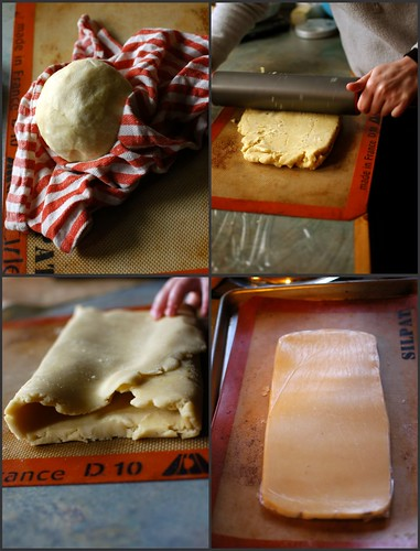 I have made a lot of puff pastry in the last month.