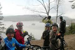 Dragehode 4H på sykkeltur bilder