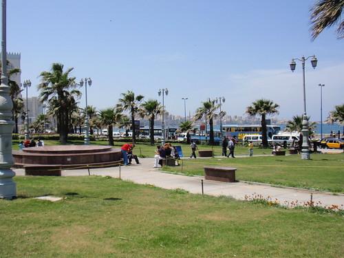 A park on El Corniche