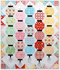 GLOW HAPPY with my Holiday Happy fabric line