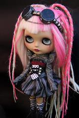 :) (♥PAM♥dolls♥) Tags: dreadlocks doll goggles blythe piercings cyberpunk pamdolls