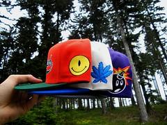Snapback (Sneaker Freak) Tags: new adam hat logo weed caps smiley era bud marijuana bomb cannabis supreme mishka hundreds kush fitted wavves