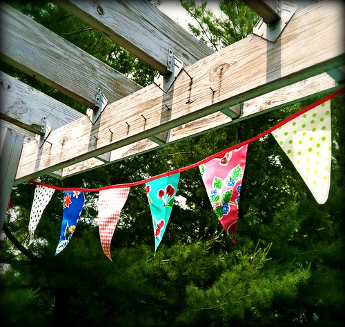 summer bunting is back