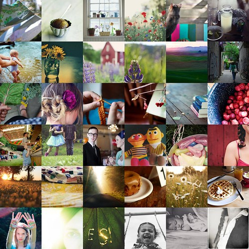 tilt ~ high on summer.a flickr favorite mosaic by kristin~mainemomma