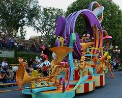 Mickey's float