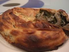 Spinach and Feta börek - South Melbourne Market deli AUD5