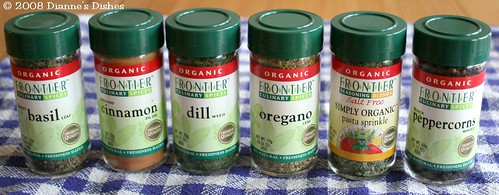 Dianne's Dishes March Contest: Spice (Or Herb) Up Your Life!