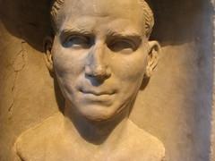 Marble funerary stele of Gaius Vibius Felix. (C-Monster) Tags: nyc sculpture ny newyork roman themet metropolitanmuseumofart greekandromangalleries gaiusvibiusfelix