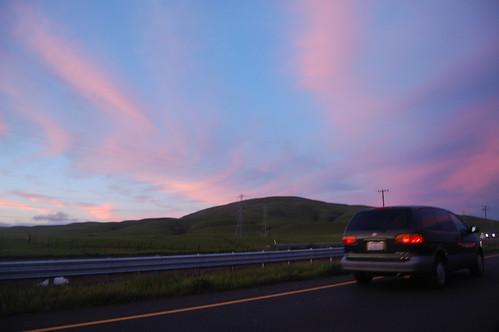 20080229 Sunset on CA-37