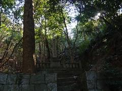 洲本城への道その2
